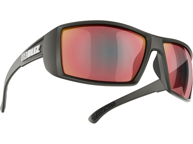 Bliz Drift Brille matte black/smoke/red multi